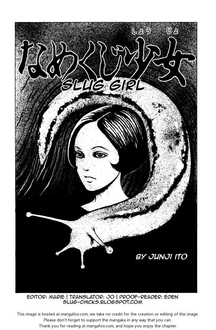 Itou Junji Kyoufu Manga Collection 1: Slug Girl at MangaFox.la