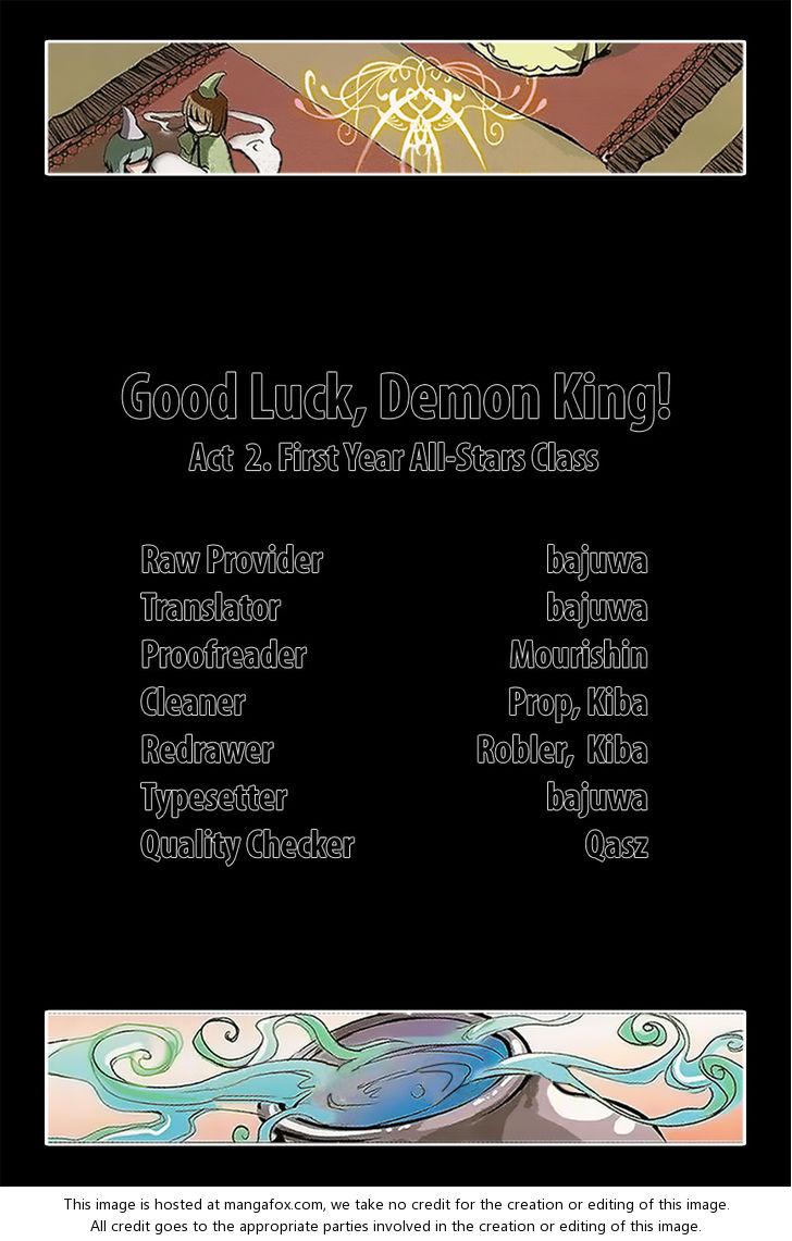 Good luck, Demon King! Season 1 2: First Year All-Stars Class at MangaFox.la