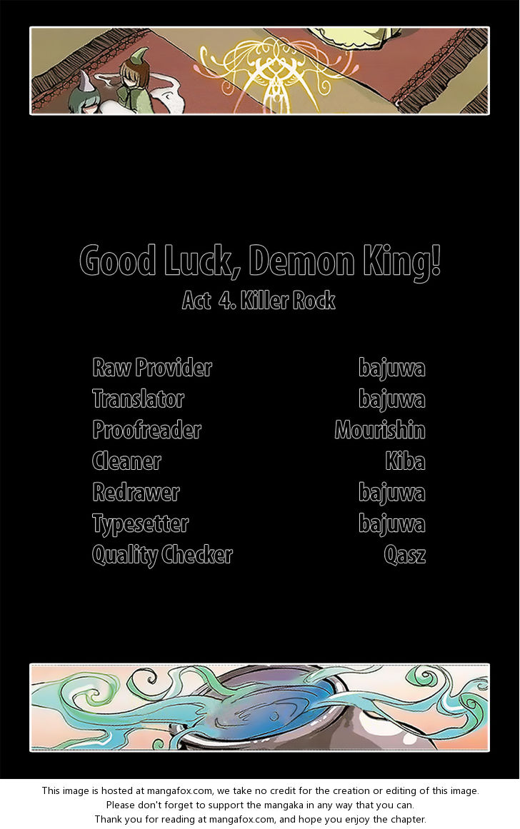 Good luck, Demon King! Season 1 4: Killer Rock at MangaFox.la