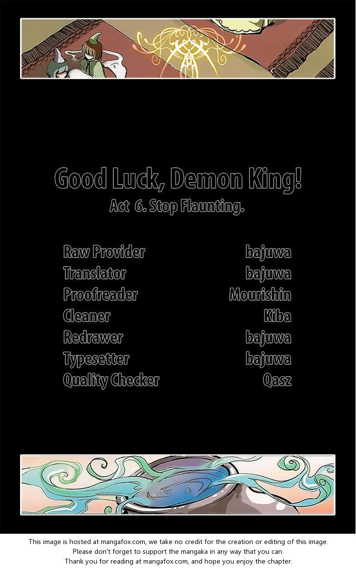 Good luck, Demon King! Season 1 6: Stop Flaunting at MangaFox.la