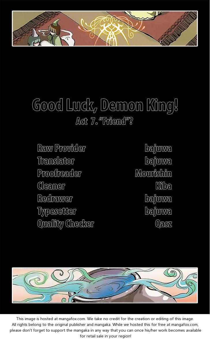 "Good luck, Demon King! Season 1 7: ""Friend""? at MangaFox.la"