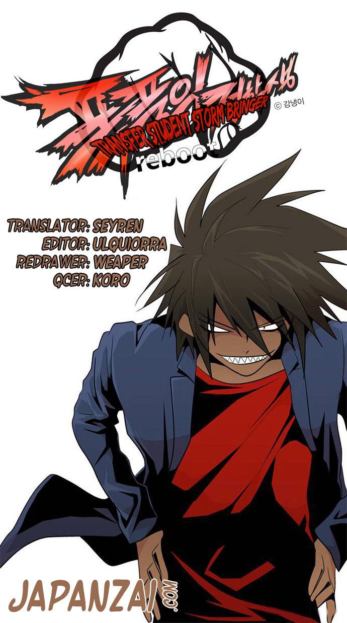 Transfer Student Storm Bringer Reboot 7 at MangaFox.la
