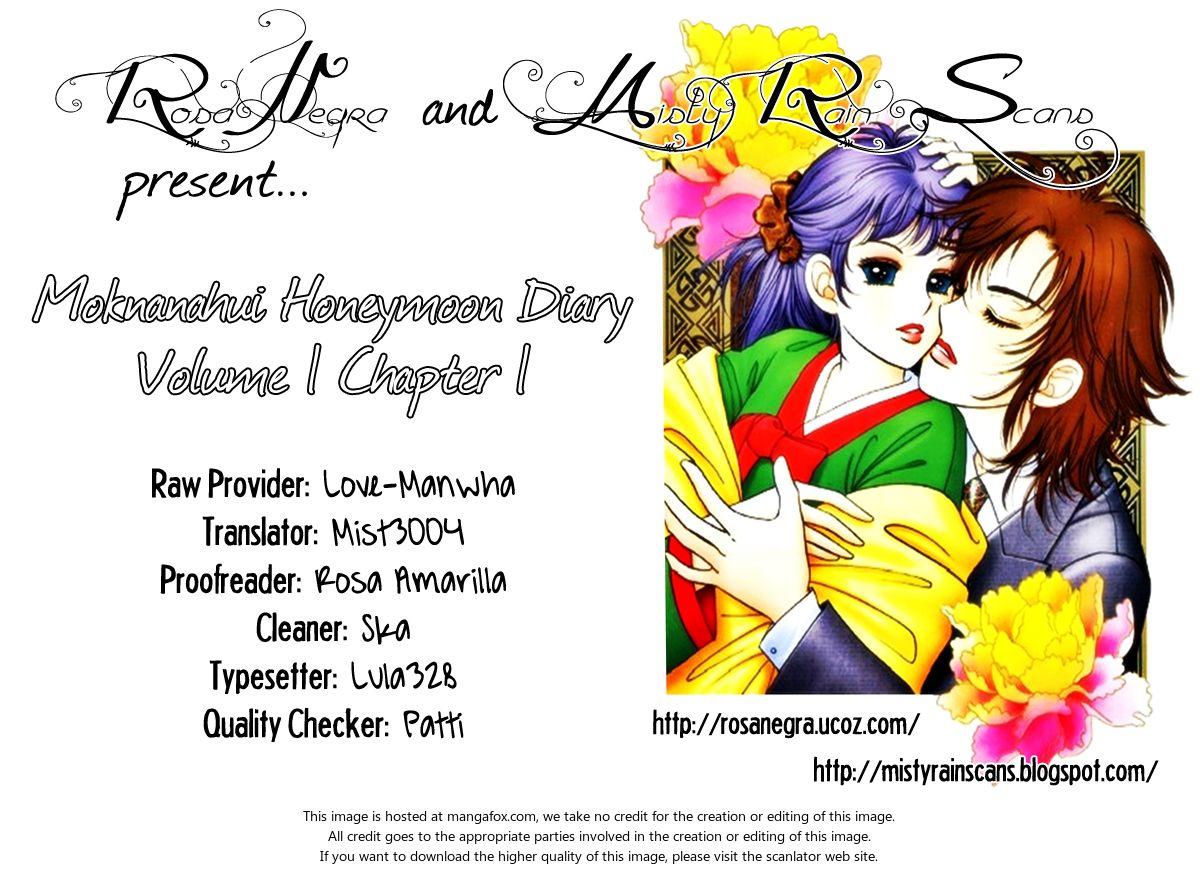 Moknanahui Honeymoon Diary 1: Mok Nanah's Wedding at MangaFox.la