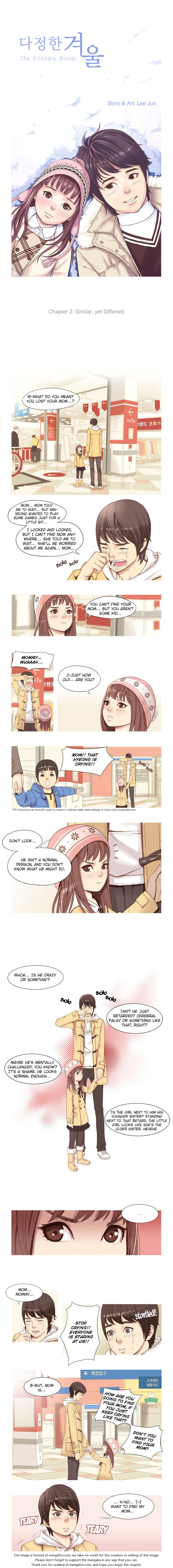 The Friendly Winter 2: Similar, Yet Different at MangaFox.la