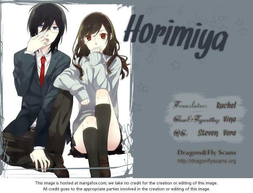 Horimiya 8: Stress and De-stress at MangaFox