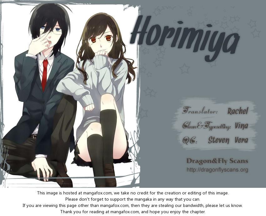 Horimiya 10: Young Izumi at MangaFox