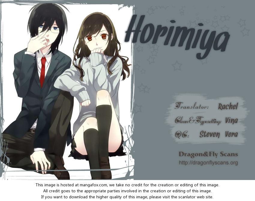 Horimiya 11: A Sudden Shower at MangaFox