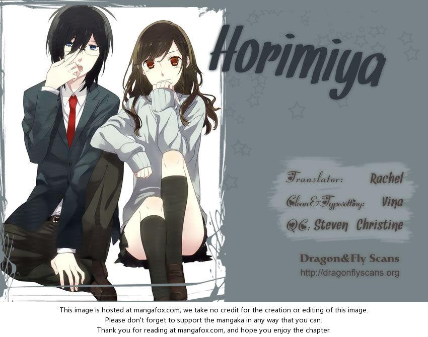 Horimiya 12: So Stubborn at MangaFox