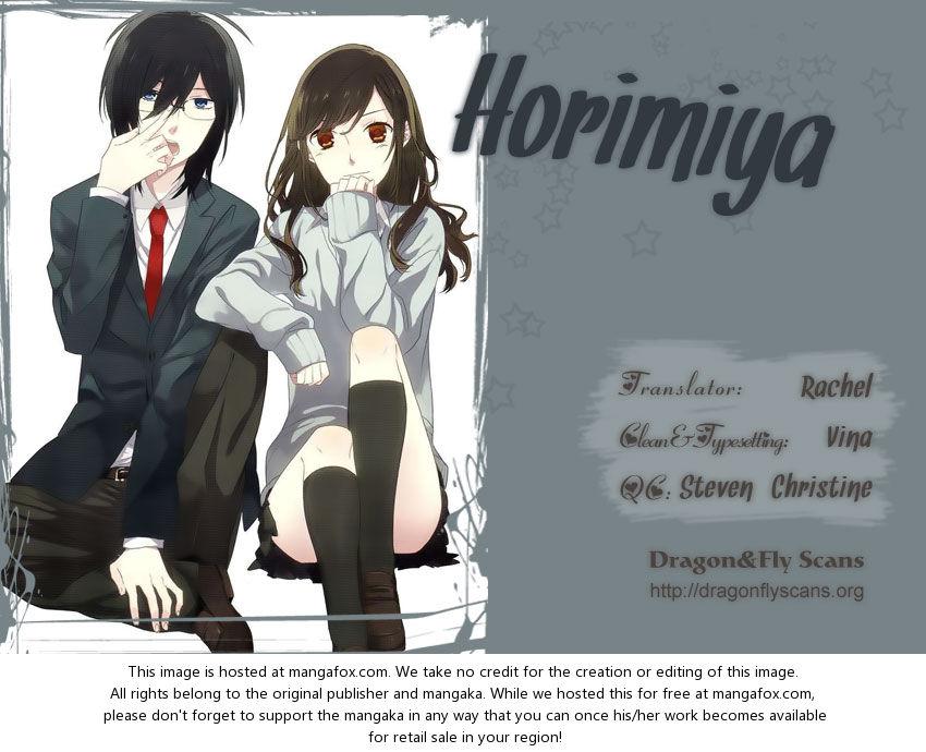 Horimiya 13: I Like at MangaFox
