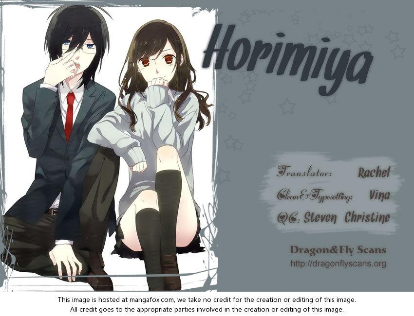 Horimiya 15: Food I like at MangaFox