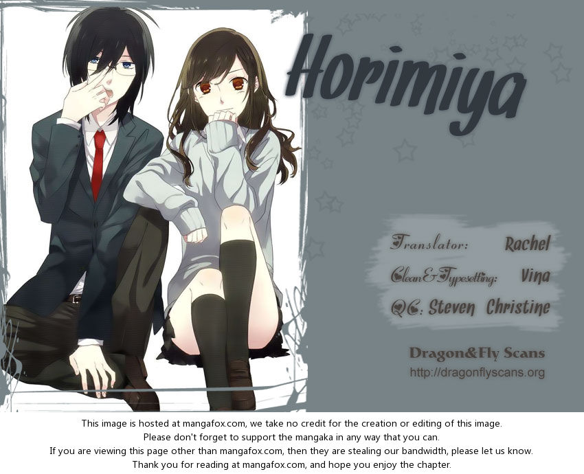 Horimiya 17: Rebellion at MangaFox