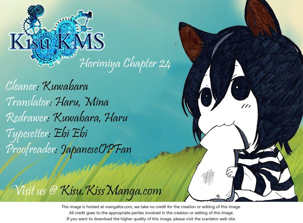 Horimiya 24: Transparent at MangaFox