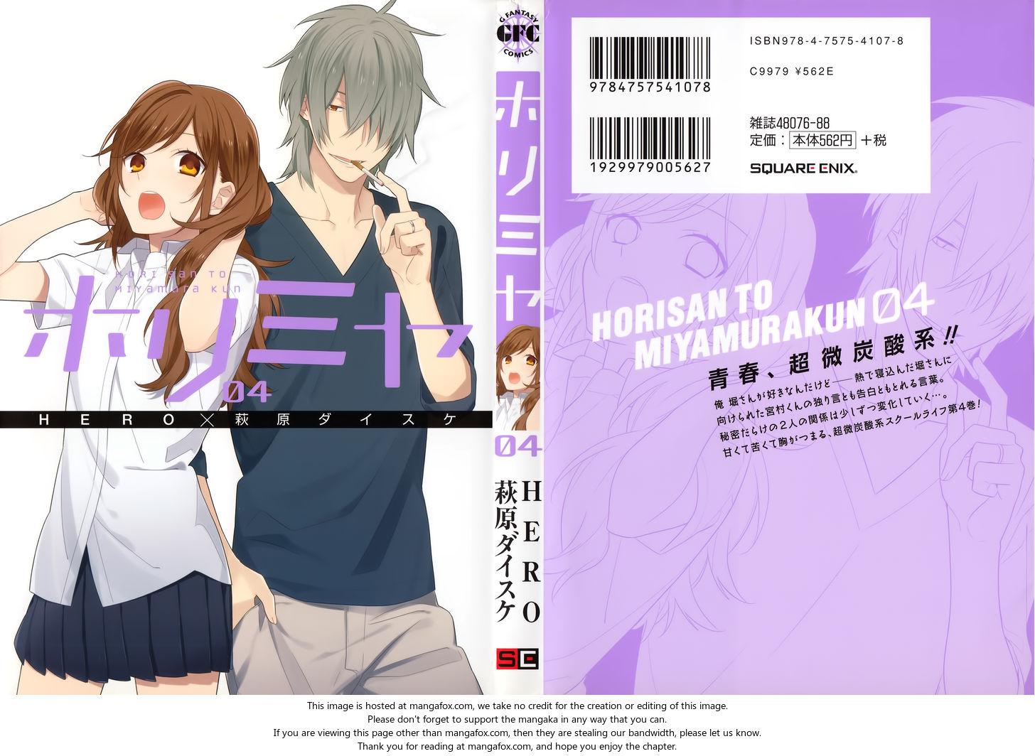 Horimiya 26.5: Extras at MangaFox