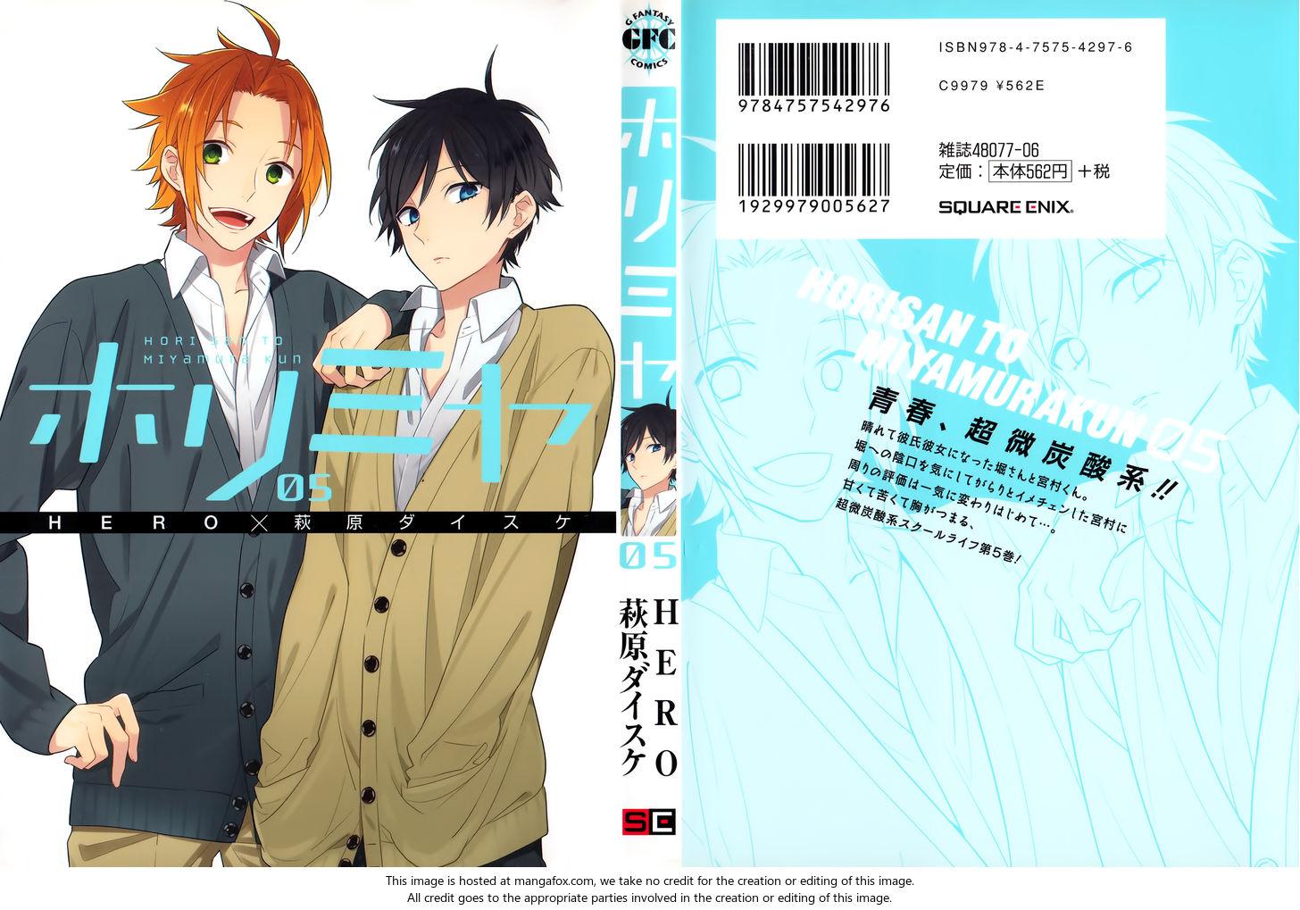 Horimiya 34.5: Extras at MangaFox