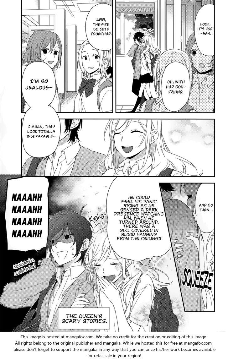 Horimiya 37: Cold Rain at MangaFox