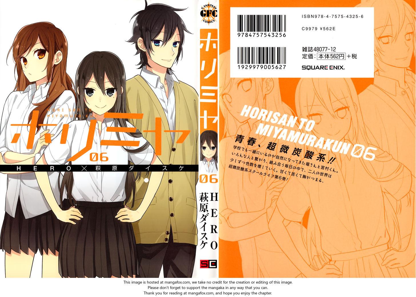 Horimiya 42.5: Extras at MangaFox