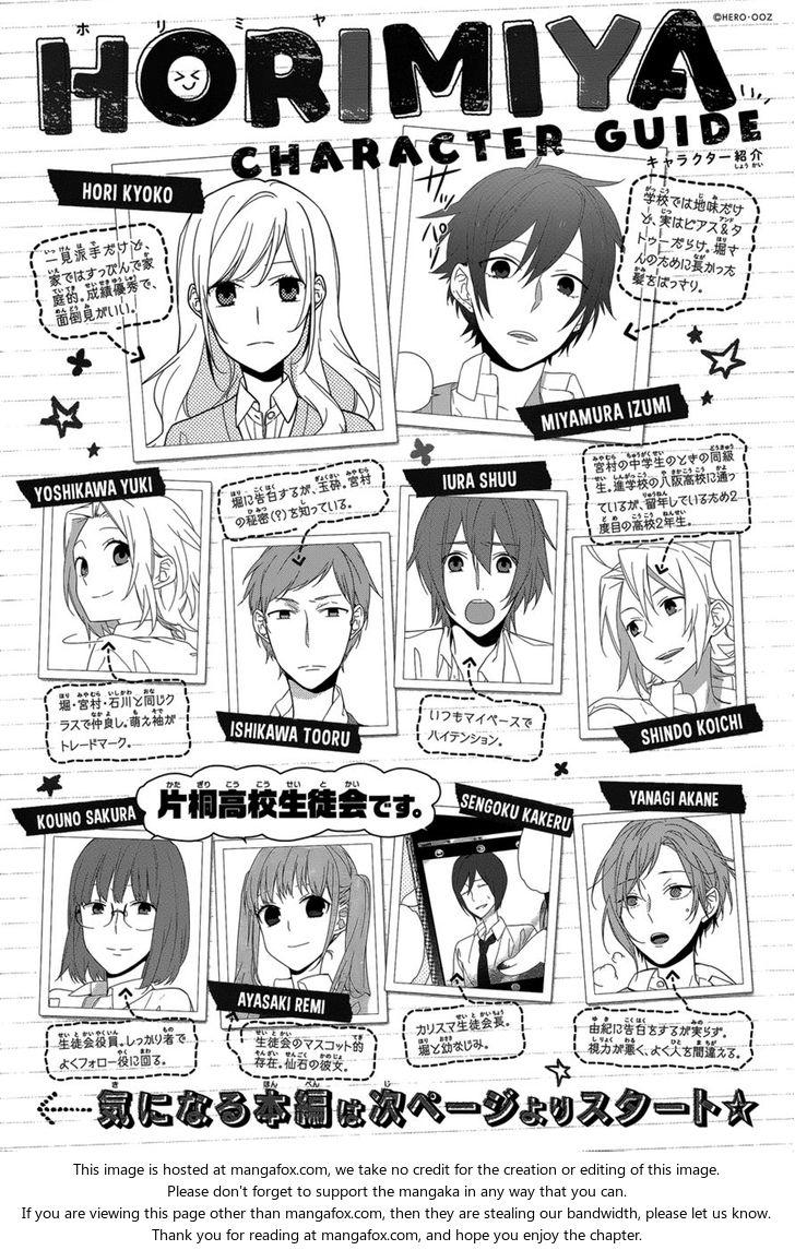 Horimiya 47: Gap: Part Two at MangaFox