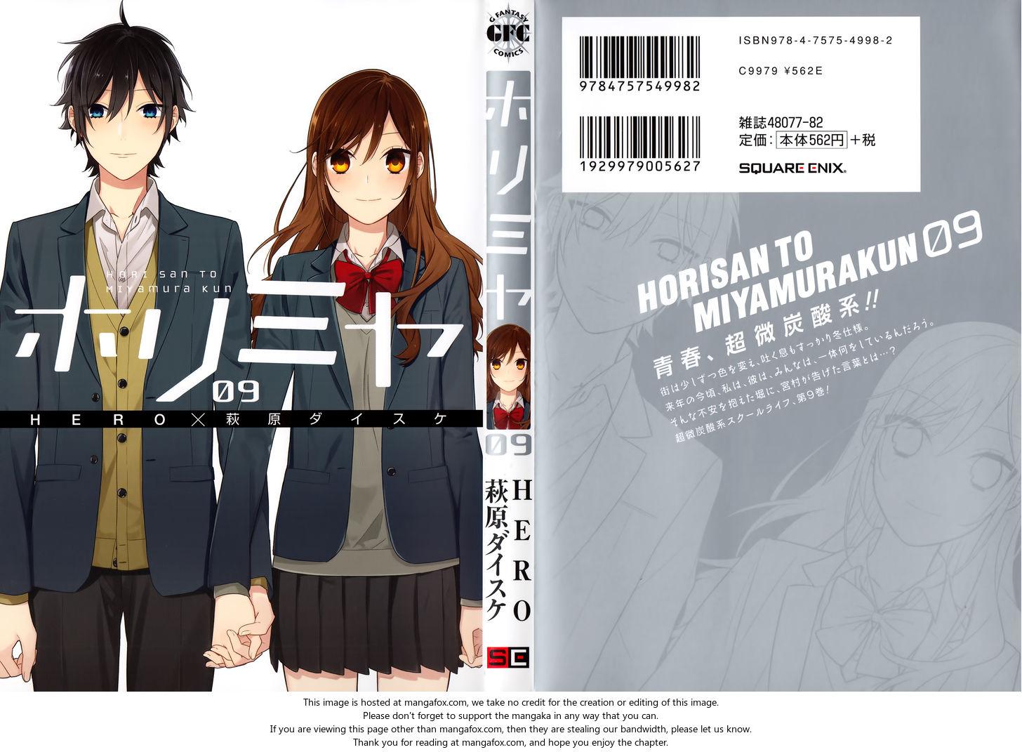 Horimiya 63.5: Extras at MangaFox