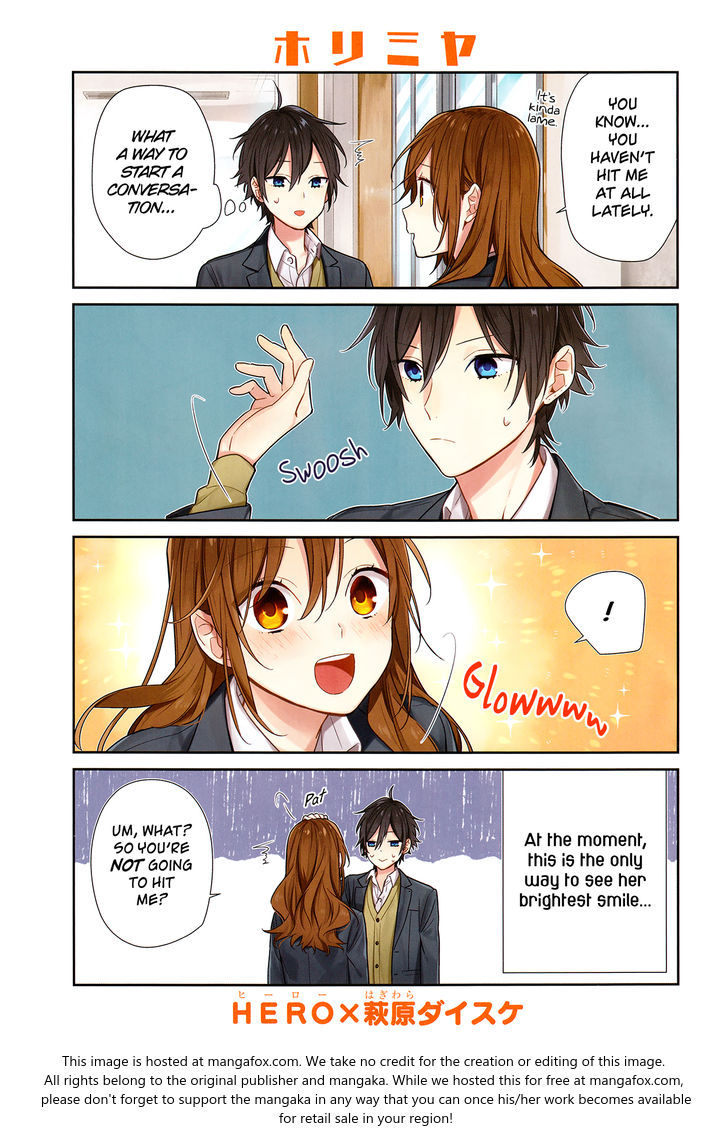 Horimiya 85: Keeping a Secret at MangaFox