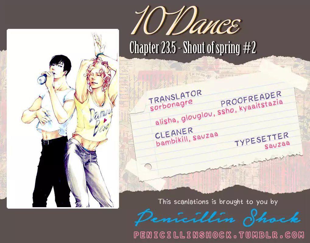 10 Dance 23.5: Shout of spring #2 at MangaFox