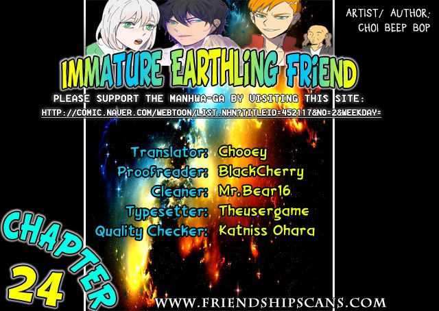 Immature EARTHling Friend 24: Dating Episode(4) at MangaFox.la