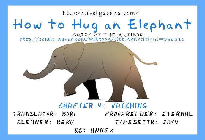How to Hug an Elephant 4: Watching (1) at MangaFox.la