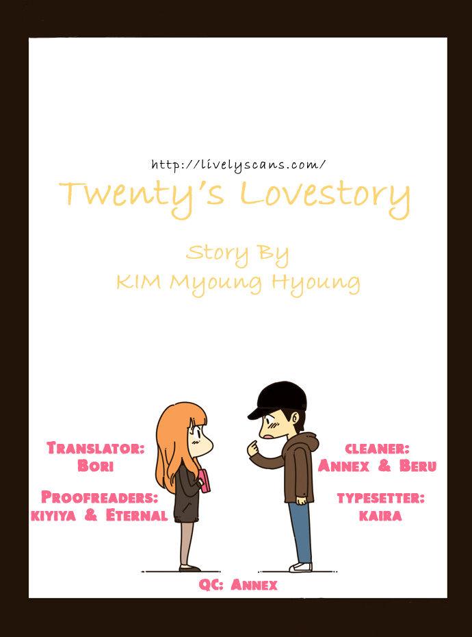 Twenty's Lovestory 1 at MangaFox.la