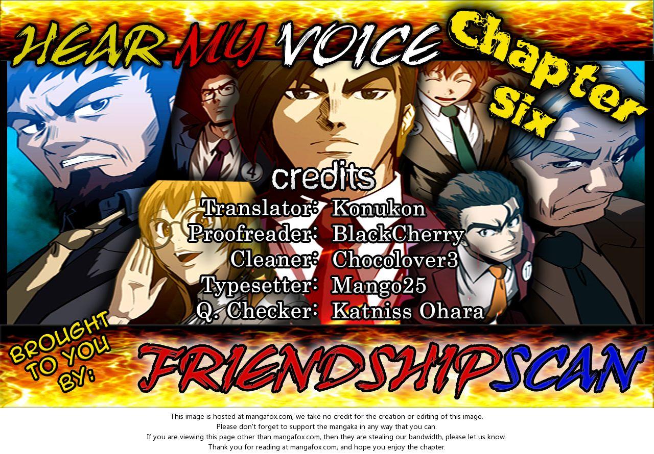 Hear My Voice 6 at MangaFox.la