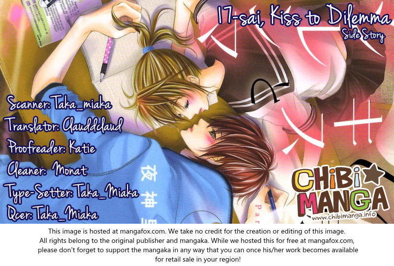 17-sai, Kiss to Dilemma 20.3 at MangaFox