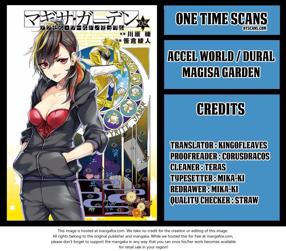 Accel World / Dural - Magisa Garden 34: Ach! Hans, Run! at MangaFox