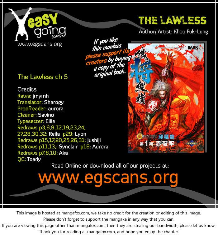 The Lawless 5 at MangaFox.la
