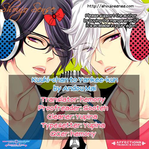 Kuuki-chan to Yankee-kun 0 at MangaFox