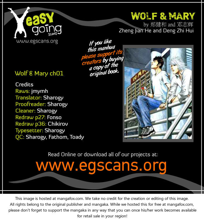 Wolf & Mary 1 at MangaFox.la