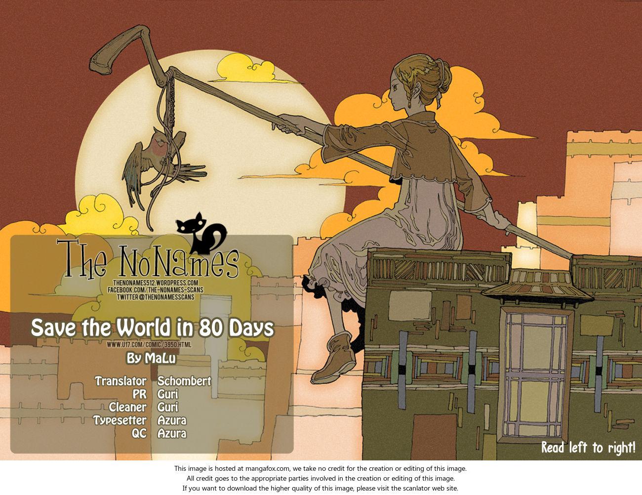 80 Tian Zhengjiu Shijie 31: The 31st Day, Again at MangaFox