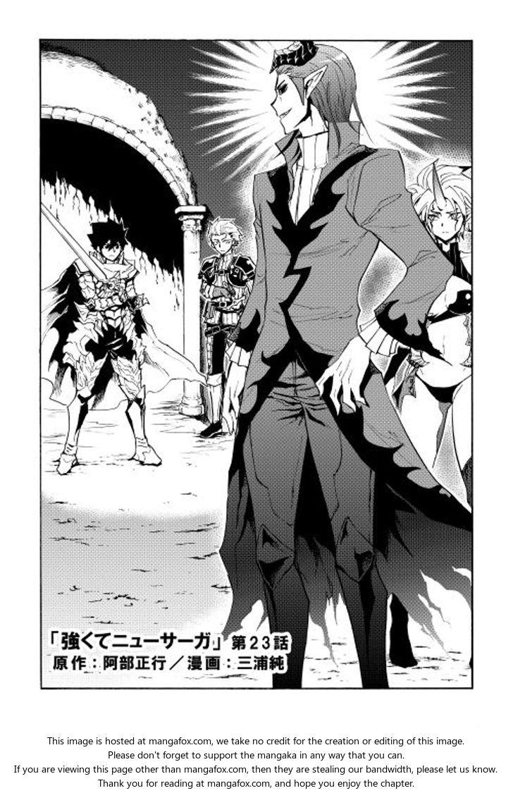 Tsuyokute New Saga 23 at MangaFox