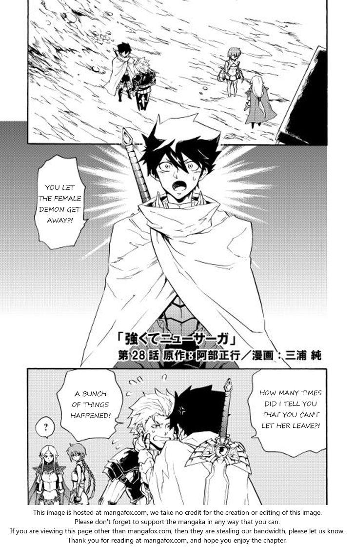 Tsuyokute New Saga 28 at MangaFox