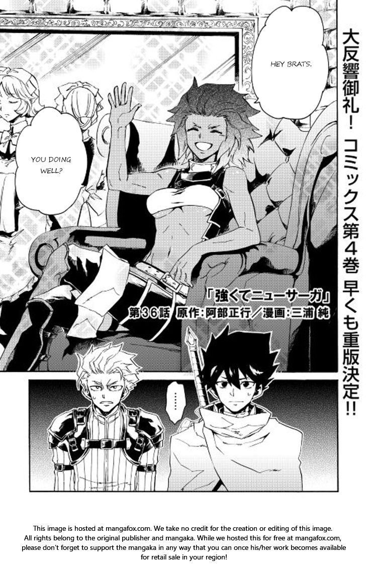 Tsuyokute New Saga 36 at MangaFox