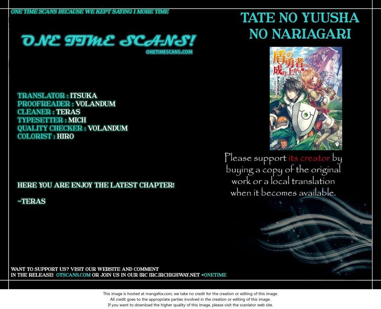 Tate no Yuusha no Nariagari 21: Nightmare at MangaFox