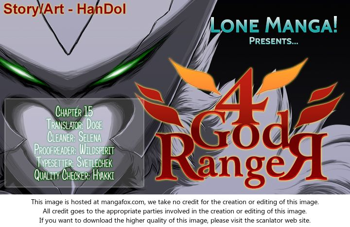 4 God Ranger 15 at MangaFox