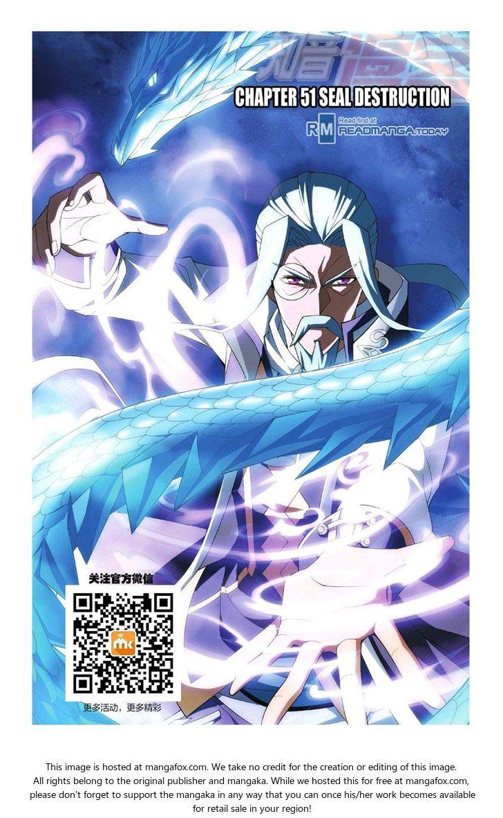 Doupo Cangqiong 51: Seal Destruction at MangaFox