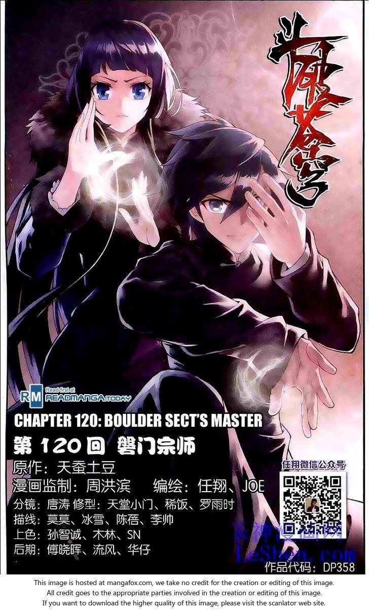 Doupo Cangqiong 120: Boulder Sect's Master at MangaFox