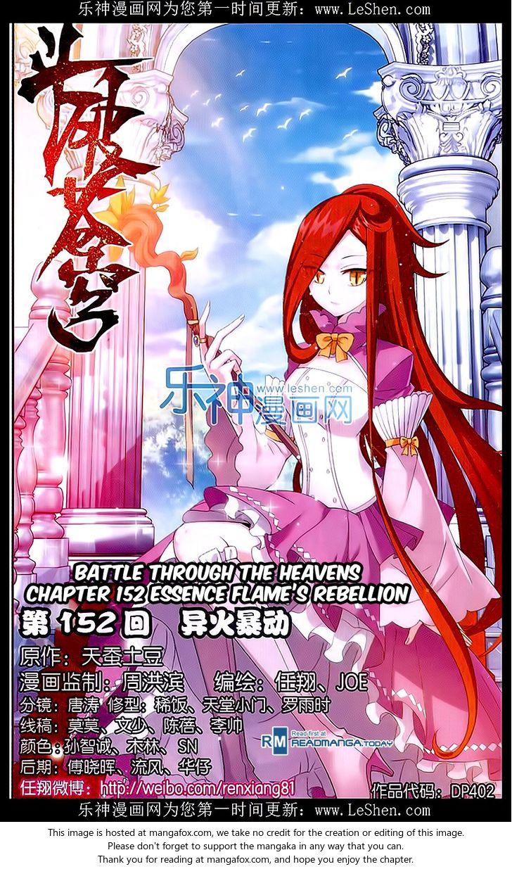 Doupo Cangqiong 152: Essence Flame's Rebellion at MangaFox
