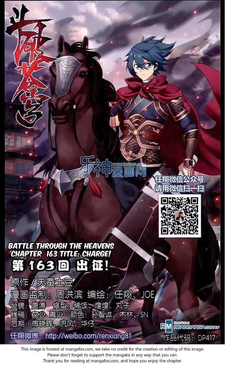 Doupo Cangqiong 163: Charge! at MangaFox