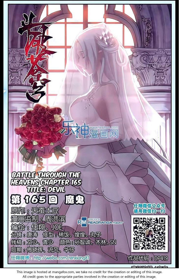 Doupo Cangqiong 165: Devil at MangaFox