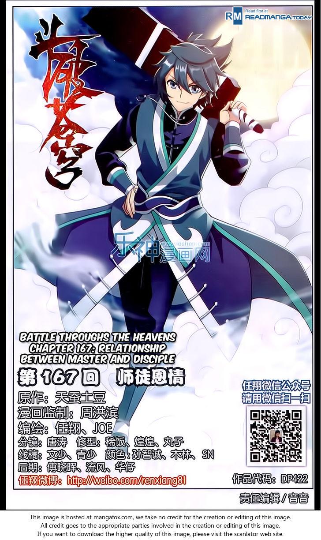 Doupo Cangqiong 167: Relationship Between Master and Disciple at MangaFox