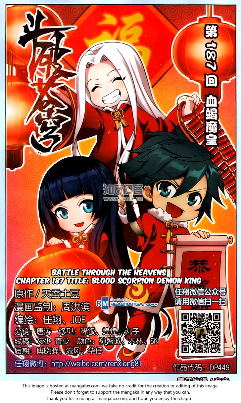 Doupo Cangqiong 187: Blood Scorpion Demon King at MangaFox