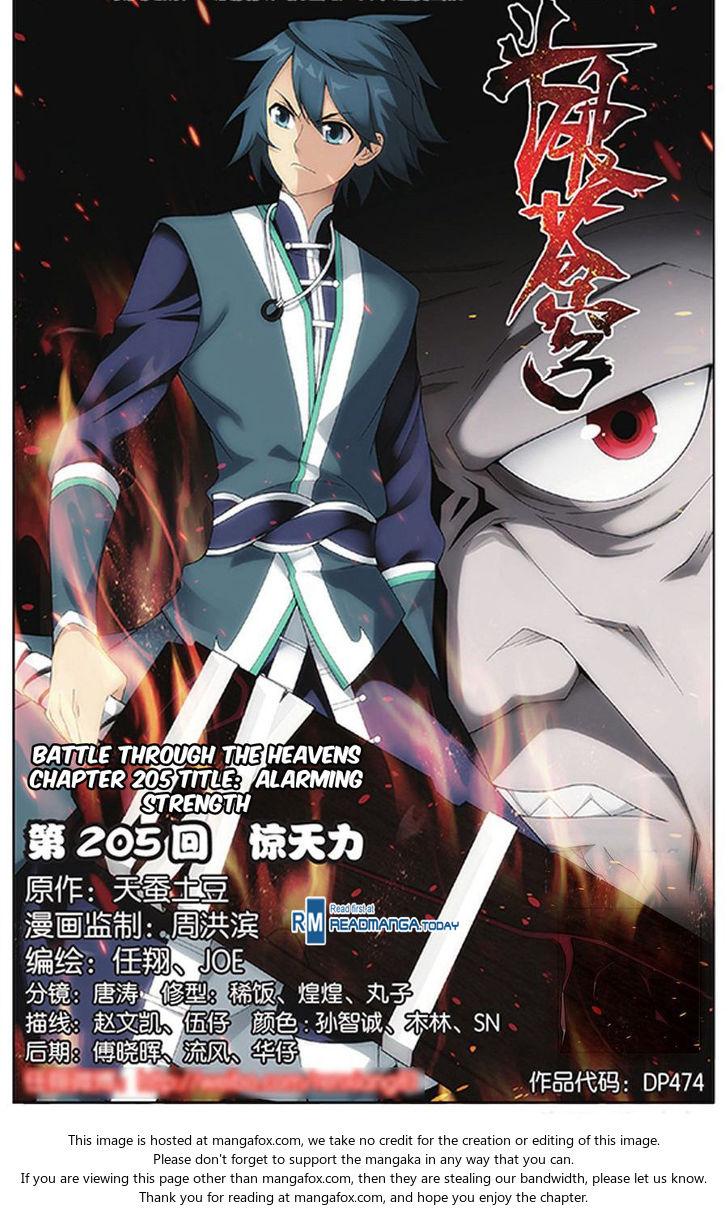 Doupo Cangqiong 205: Alarming Strength at MangaFox