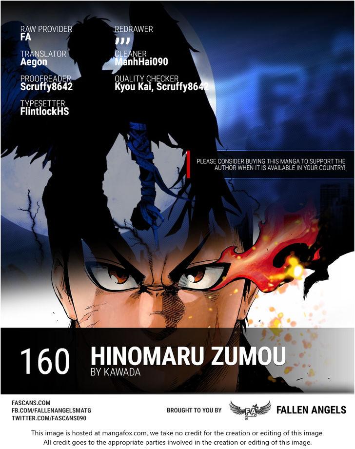 Hinomaru-Zumou 160 at MangaFox