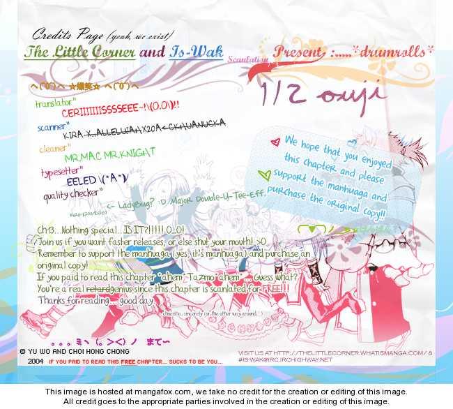 1/2 Prince 13: A White Lie at MangaFox