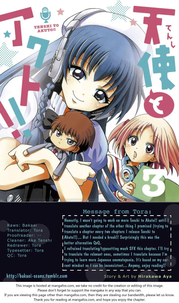 Tenshi to Akuto!! 20 at MangaFox